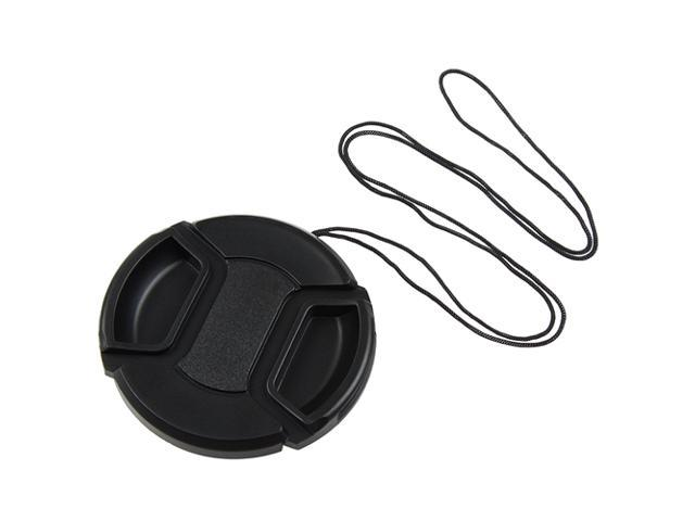 58mm Lens Cap Cover, Black for Canon Rebel XTi XSi XS T1i T2i