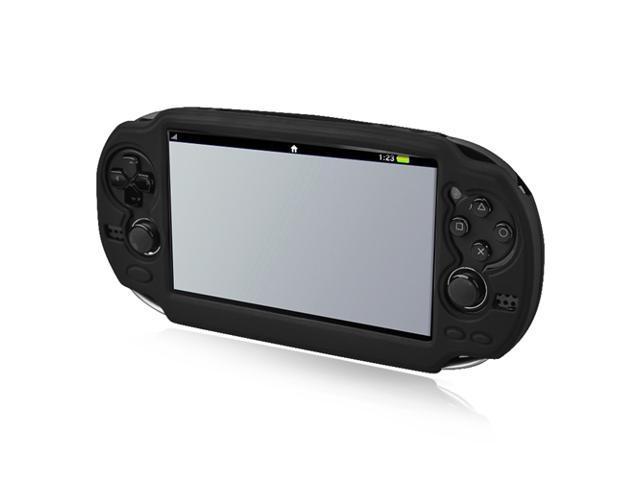 Silicone Skin Case for Sony PlayStation Vita, Black