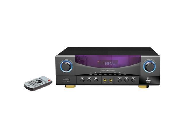 PYLE HOME PT530A 2-channel 350-watt amplifier am/fm receiver