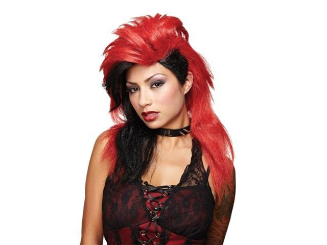 Wicked Desire Red and Black Wig