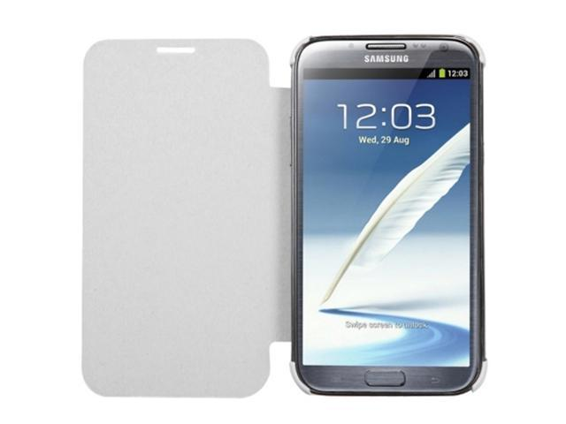 MYBAT 3200 mAh White Quantum Energy Battery Case Compatible With Samsung©: Galaxy Note II (T889/I605)