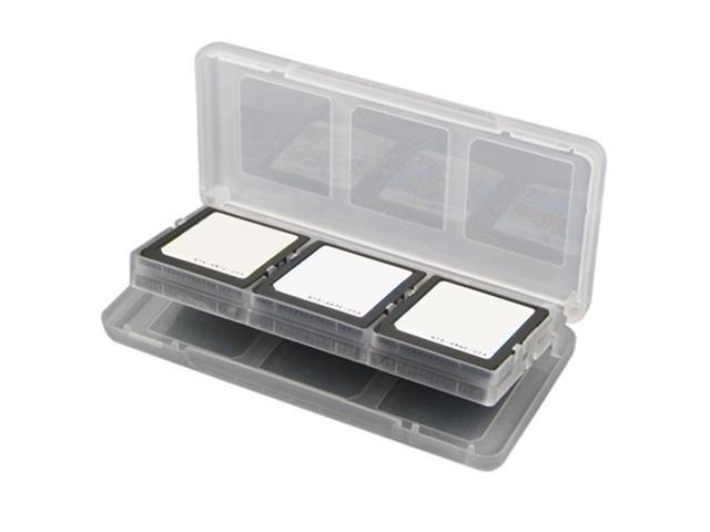 Clear White Game Card Case for Nintendo DS Lite
