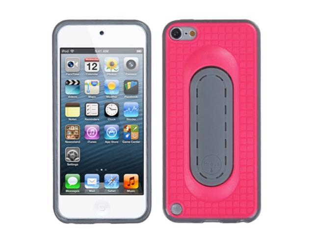 Apple iPod Touch 5th Gen/6th Gen Case, eForCity Checker Stand TPU Rubber Candy Skin Case Cover Compatible With Apple iPod ...