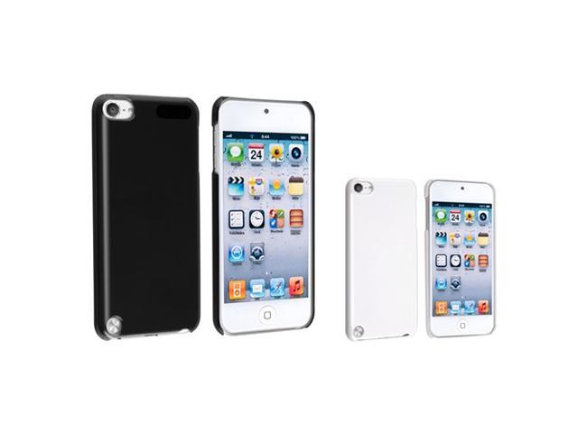 Apple iPod Touch 5th Gen Case, eForCity Hard Snap-in Case Cover Compatible With Apple iPod Touch 5th Gen, Black