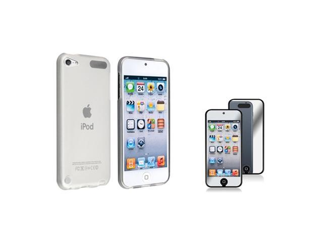 Apple iPod Touch 5th Gen/6th Gen Case, eForCity TPU Rubber Candy Skin Transparent Case Cover Compatible With Apple iPod Touch 5th Gen/6th Gen, White