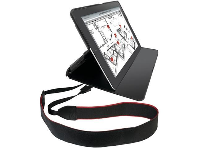 Cta Digital Pad-Pcs Protective Carrying Case With Shoulder Strap Compatible with iPad 2