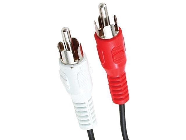 Petra RCA22-6YB(C1732/BK/6' Stereo Audio Cable (6 Feet)