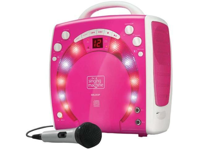A pink i don know karaoke machines