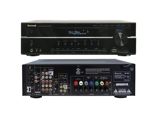 Sherwood RD705I 7.1-Channel 7.1ch Network AV Receiver