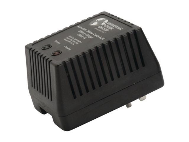 UPG D1761 Sealed Lead Acid Battery Charger (12V Dual-Stage with Screw Terminals; 1,000mAh)