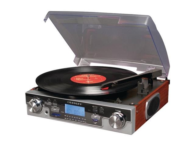 Crosley Radio CR6007A-MA Recording Tech Turntable (Mahogany)