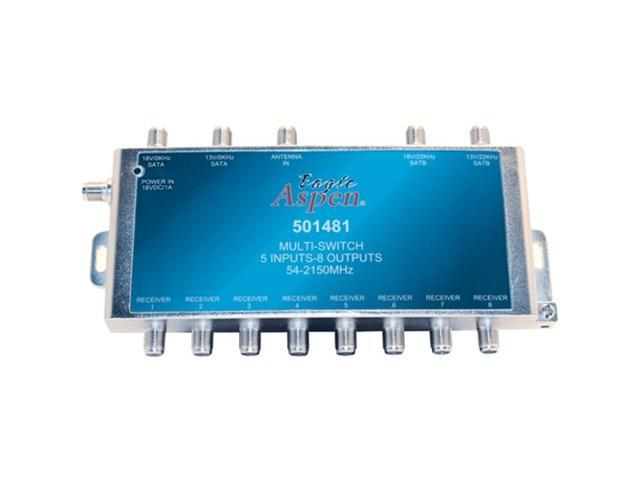 EAGLE ASPEN 501481 5-In x 8-Out Multiswitch