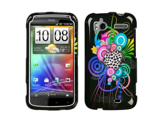 MYBAT Love Leopard Phone Protector Cover for HTC Sensation 4G