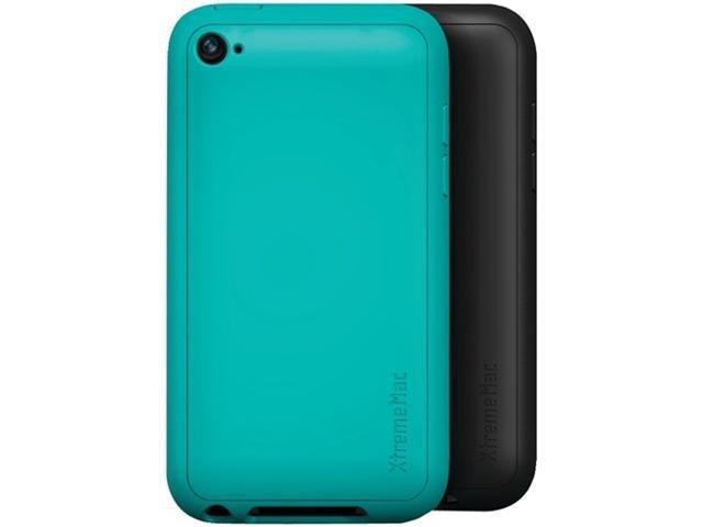 Xtrememac 02290 Tuffwrap Case compatible with Apple iPod touch 4G, 2-Pack ,Black/Turquoise