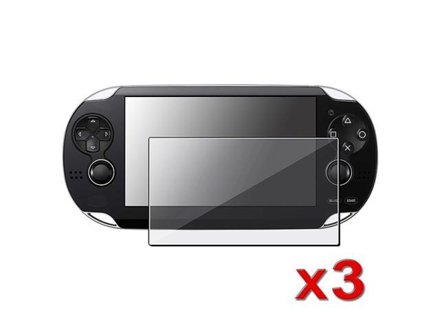 3 x Reusable Crystal Clear Screen Protector for Sony PS vita Playstation