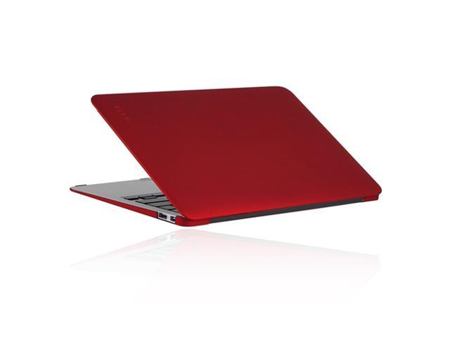 Incipio Feather Ultralight Hard Shell Case for MacBook 11 inch - Matte Iridescent Bright Red