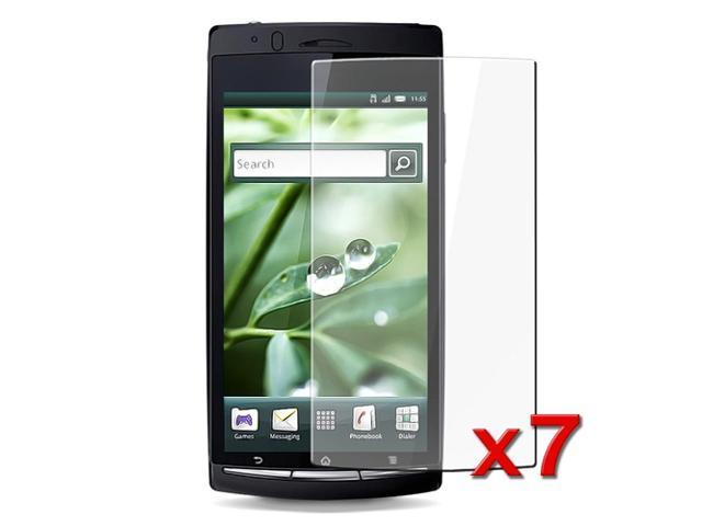 eForCity 7 Screen Shield Film Bundle Kit LCD Protector Compatible With Sony Ericsson Xperia Arc X12