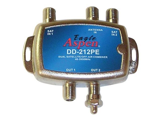 Eagle Aspen Dd-212Pe Directv-Approved Dual Diplexer