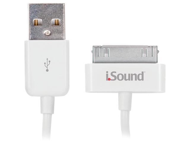 ISOUND ISOUND-1663 Apple® iPad® , iPhone® iPod® Charge & Sync Cable, 3FT