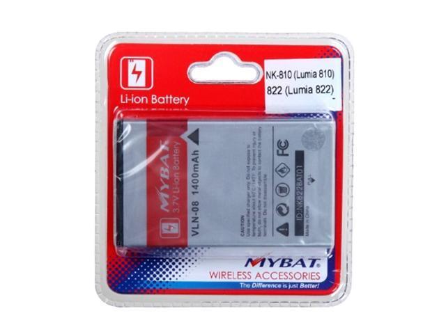 MYBAT Li-ion Battery Compatible With NOKIA 822 (Lumia 822), 810 (Lumia 810)