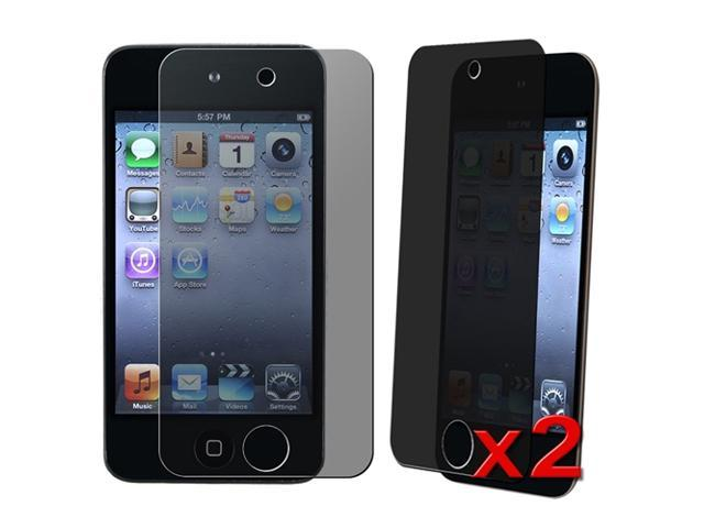 2 packs of Privacy Screen Covers Film compatible with Apple® iPod touch 4th Gen