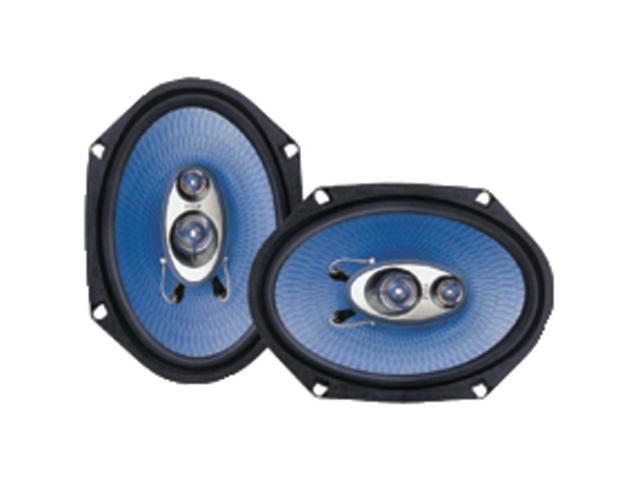 """PYLE PL683BL Blue Label Speakers (6"""" x 8""""&#59; 3-way)"""