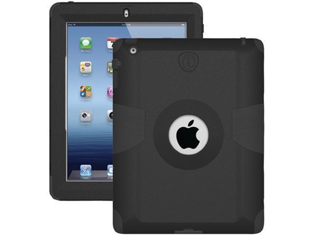 Trident AMS-NEW-IPAD-BK Kraken AMS Case for iPad - 1 Pack - Retail Packaging - Black