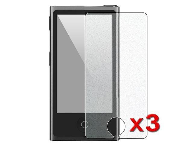 eForCity 3 x Colorful Diamond Screen Protector Compatible with Apple® iPod Nano 7 / 7th / 7 th / 7 Generation / Gen7 / 7 Generation