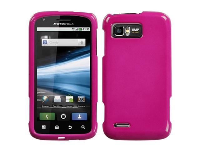 MYBAT Solid Hot Pink Phone Protector Cover for MOTOROLA MB865 (Atrix 2)