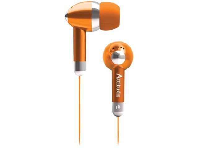 Coby Cve53Org Noise-Isolation Stereo Earphones (Orange)