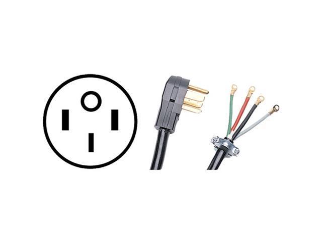 Petra 90-2084 4-Wire Range Cord, 50A (6 Ft)