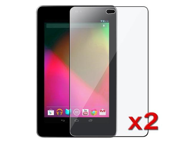 """eForCity Premium 2X Clear Screen Protector Guard Film compatible with Asus Google Nexus 7 (2012 version) 7"""" Tablet"""