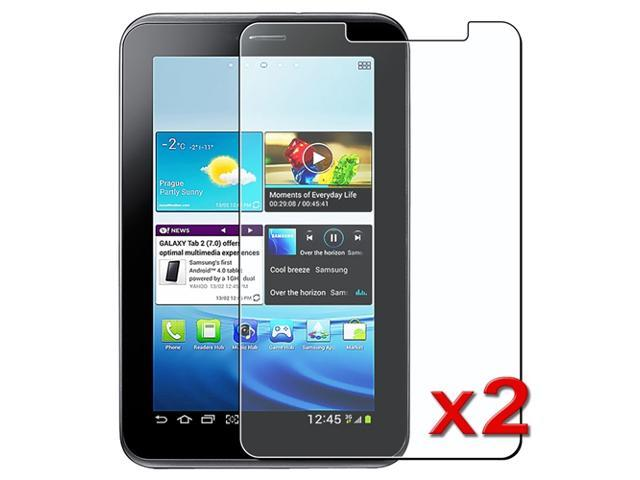 """eForCity 2X Anti-Glare Matte Screen protector compatible with Samsung© Galaxy Tab 2 7"""" P3100"""