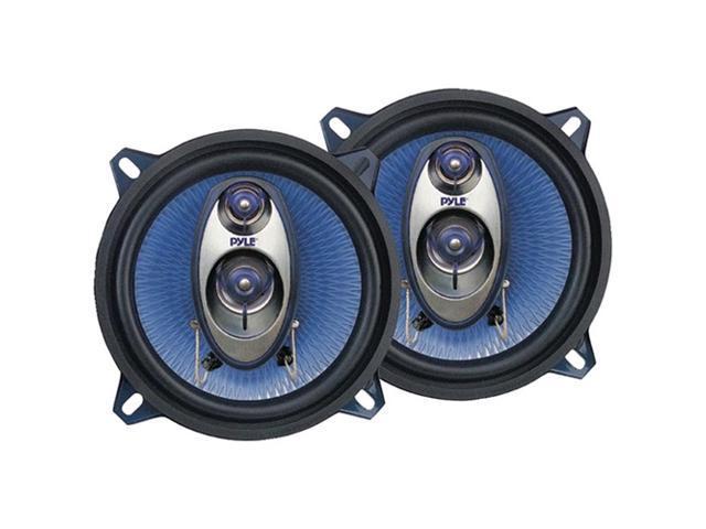 PYLE CAR AUDIO PL53BL NEW 5.25 INCH 200 WATT THREE WAY TRIAXIAL SPEAKER SYSTEM