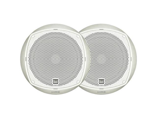"DUAL DMP670 6.5"" Poly Marine Dual Cone Speakers"