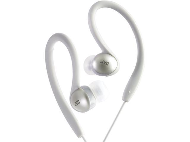 Jvc Ha-Ebx5-S Sport-Clip In-Ear Headphones (Silver)