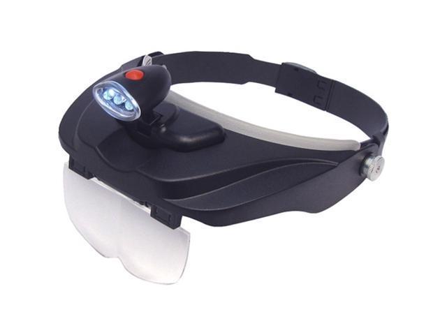 CARSON CP-60 magnivisor deluxe led head visor magnifier