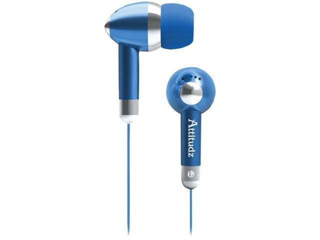 Coby Cve53Blu Noise-Isolation Stereo Earphones (Blue)