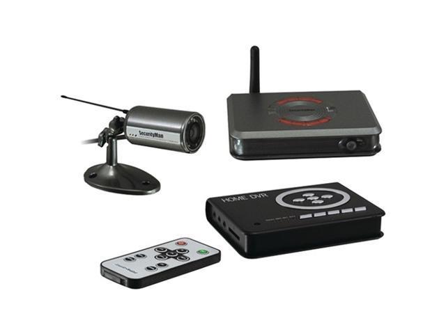 Outdoor/Indoor Wireless Camera Kit- SD