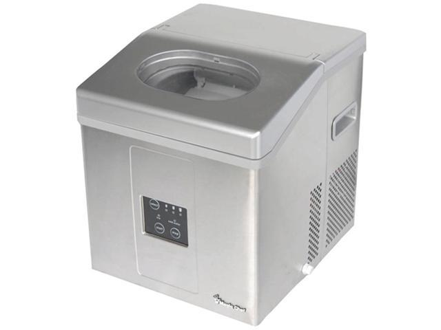 MAGIC CHEF MCIM30SST 30-lb stainless steel portable mini ice maker