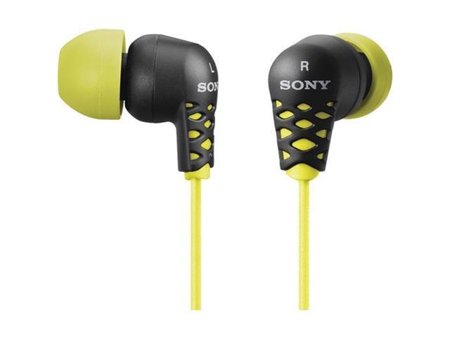 SONY MDREX37B/YLW EX-Style Earbuds (Yellow)