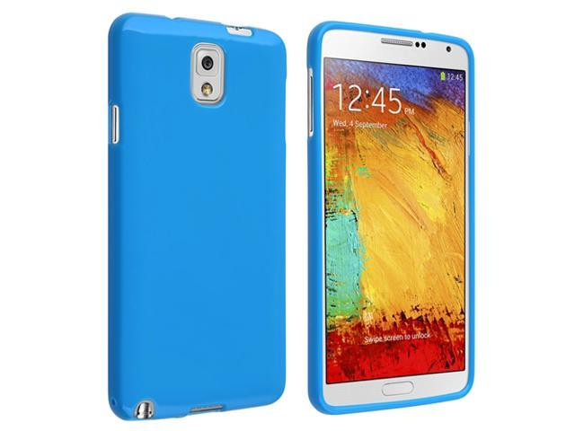 Samsung Galaxy Note III N9000 TPU Case , Blue Jelly