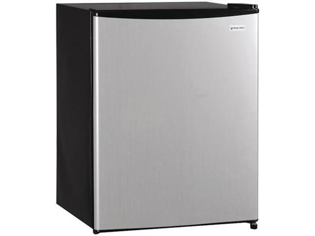 Magic Chef Mcbr240S 2.4 Cubic-Ft Stainless Refrigerator Manual Defrost