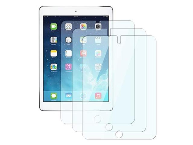 eForCity 3-Pack Reusable Screen Protector compatible with Apple iPad Air 1 / iPad Air 2