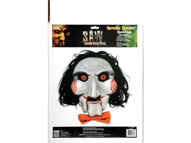 Saw Jigsaw Face Cling