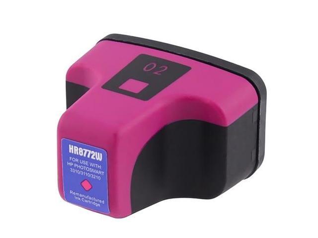 G&G Inkjet 02 Magenta Ink Cartridge C8772WN For HP PhotoSmart D7160 D7355