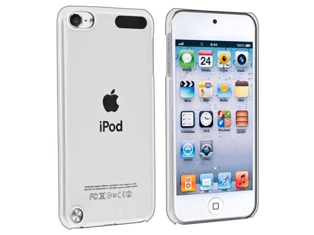 Apple iPod Touch 5th Gen/6th Gen Case, eForCity Crystal Hard Snap-in Case Cover Compatible With Apple iPod Touch 5th Gen/6th Gen, Clear