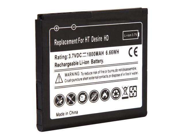 Li-Ion Standard Battery for HTC Desire HD