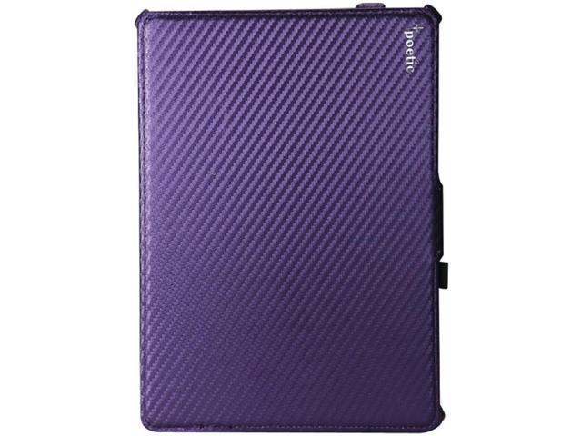 POETIC 840275102517 iPad (R) Air StrapBack Case (Carbon Fiber Purple)