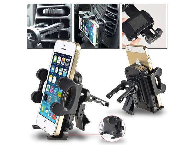 Car Air Vent Phone Holder compatible with Apple iPod Touch 5th Generation, Black
